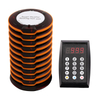 Coaster pager system restaurant pager wireless calling system
