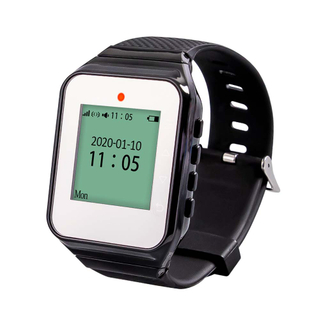 Wireless wristwatch beep pager wristband pager watch for restaurant hospital factory KTV bar hotel construction site bank plant
