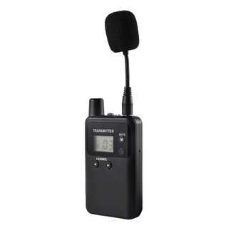 Whisper wireless radio tour guide system transmitter 813T for training interpreting conference tour guide
