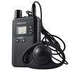 Whisper wireless radio tour guide system earphone receiver 813R for training interpreting conference tour visitors