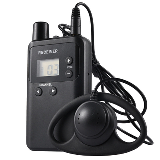 Whisper wireless radio tour guide system earphone receiver 813R for trainings, interpreting and conference