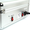 Disinfection and charging suitcase storage box for 48 mini earpiece receivers and 2 K1 transmitters